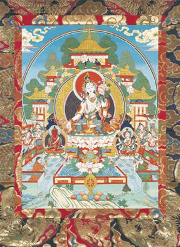 White Tara (Sitatara) Deity Card
