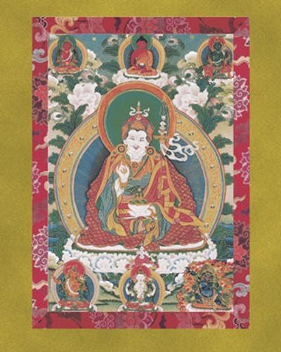 Guru Rinpoche (Padmasambhava) - Large Deity Card