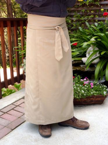 Khaki Meditation Skirt Uni-sex