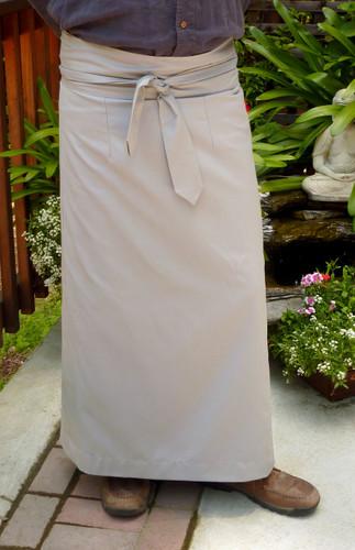 Light Grey Meditation Skirt Uni-sex