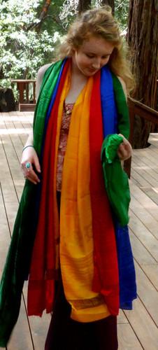 Extra Large Colored Khatas
