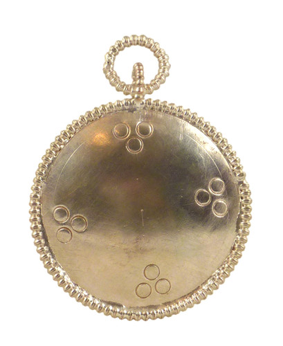 """Silver Plated Melong (2"""" diameter)"""
