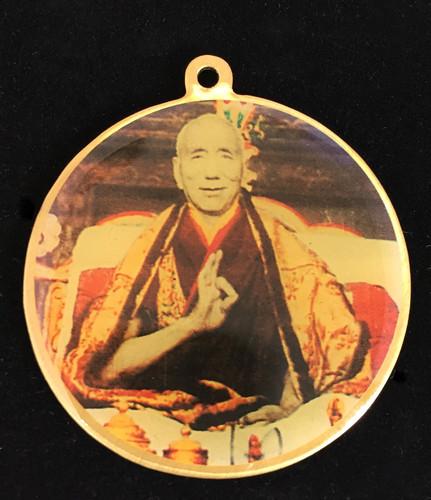 Jamyang Khyentse / Manjushri Deity Medallion