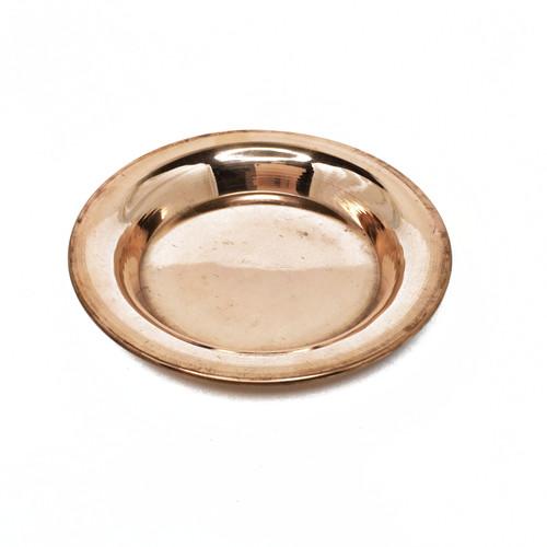 """Torma Plate, Copper 5"""""""