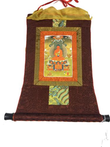 Mini Amitabha Print Thangka