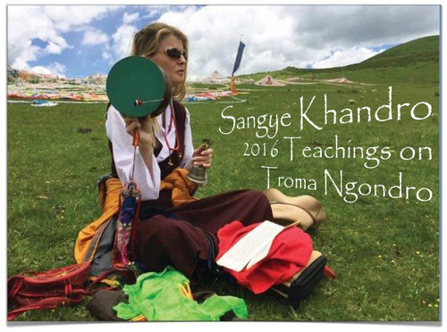(DIG AUDIO) Troma Ngondro (2016) - Teachings by Sangye Khandro