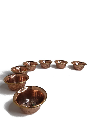 Offering Bowls, Copper 3.25""
