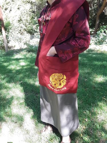 Shoulder Bag, POL Maroon