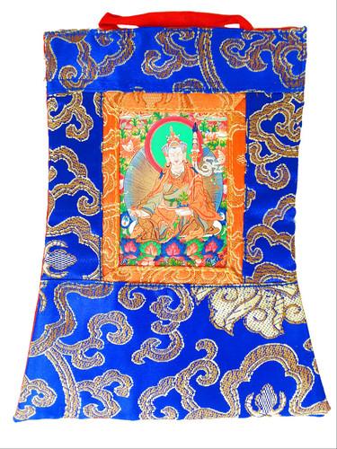 """Mini Thangka, Guru Rinpoche 5.5"""" x 7.5"""""""
