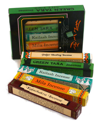 Incense, Green Tara gift pack