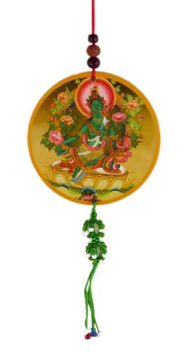 Green Tara Hanging Medallions