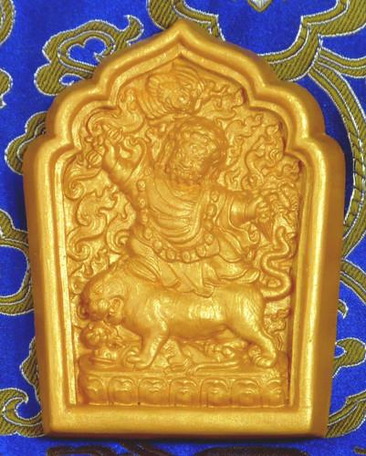Dorje Drolod Tsa Tsa (Golden Painted)