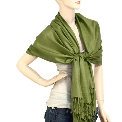 Green Pashmina Shawl
