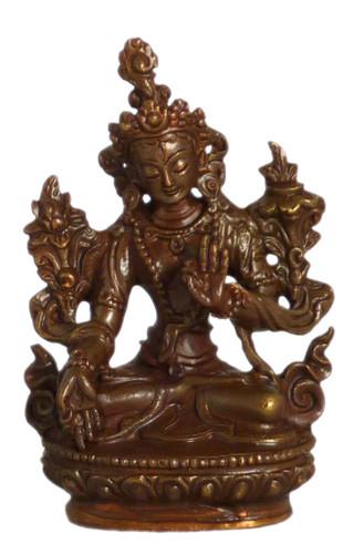 """White Tara Statue 2.25"""""""