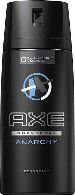 Axe Deodorant Body Spray for Him, Anarchy, 150 ml