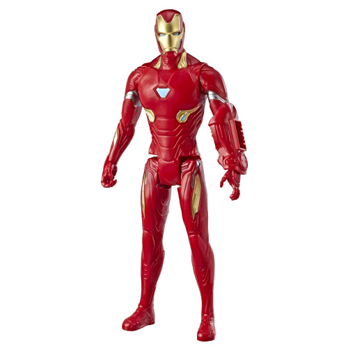 "Marvel Avengers: Endgame Titan Hero Iron Man, 12""-Scale Super Hero Action Figure Toy"