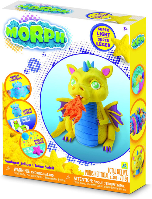 Morph Sand Molding Kit, Sunburst Yellow