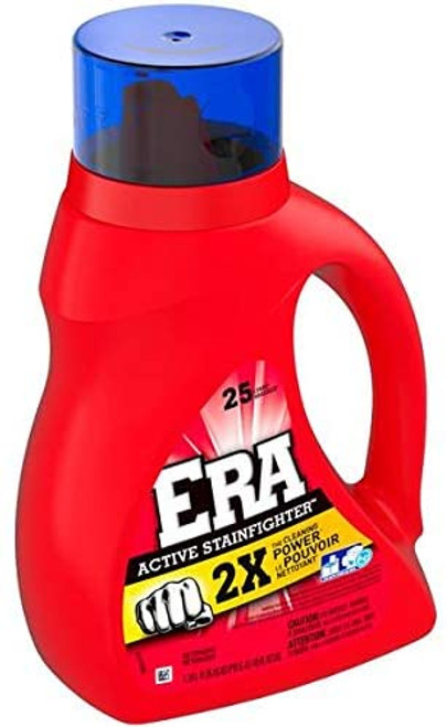 Era Laundry Detergent, 2X Active Stainfighter, 40 oz