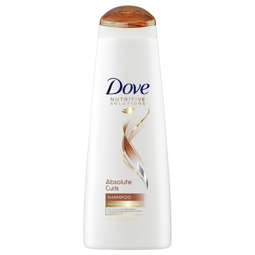 Dove Shampoo, Absolute Curls, 12 Oz