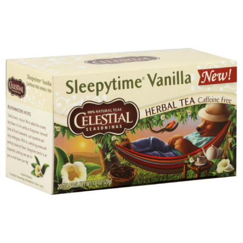 Celestial Seasonings Herbal Tea, Sleepytime Vanilla, 20 Tea Bags