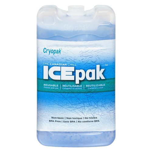"Cryopak Hard Shell Reusable Ice Pack, 3"" x 5"""