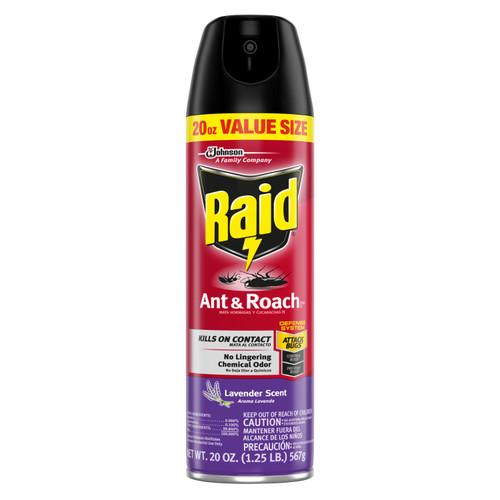 Raid Ant & Roach Killer, Lavender, 20 Oz