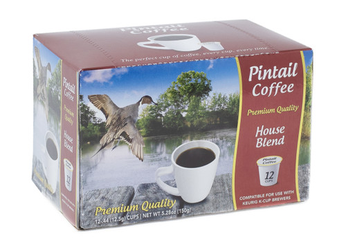 Pintail Coffee Pods House Blend, 12 ct