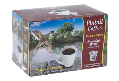 Pintail Coffee Pods Breakfast Medium Roast, 12 ct