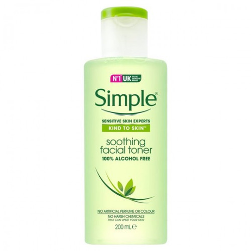 Simple Kind To Skin Soothing Facial Toner, 200 mL