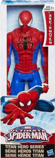 """Marvel Titan Hero Ultimate Spiderman 12"""" Figure"""