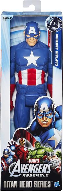 "Marvel Titan Hero Captain America 12"" Figure"