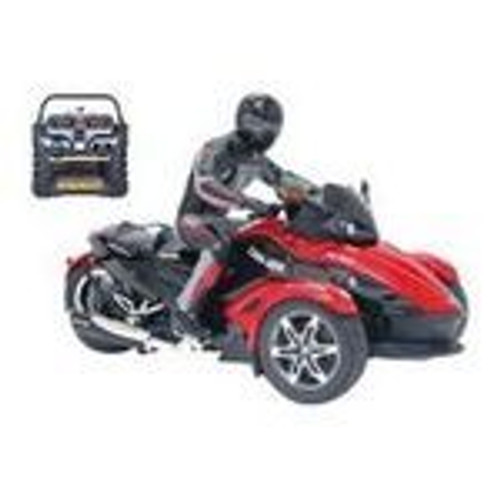 RC Cars- New Bright Can-am Spyder w Rider 1:10