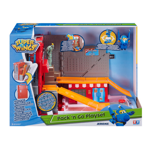 Super Wings Pack N Go Playset Jerome