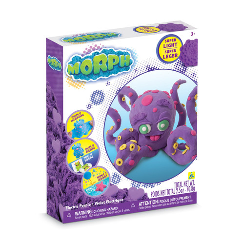 Morph Sand Molding Kit Electric Purple