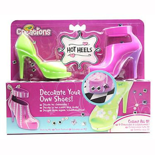 Crayola Creations Hot Heels Pink/Green Set