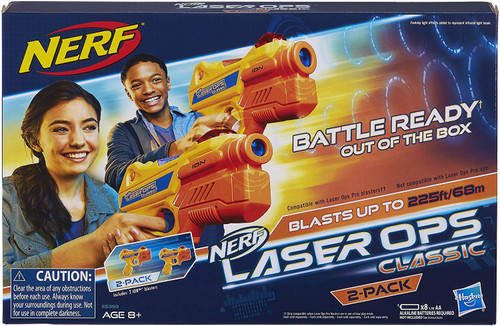 Nerf Laser Ops Classic Ion Blaster 2pk