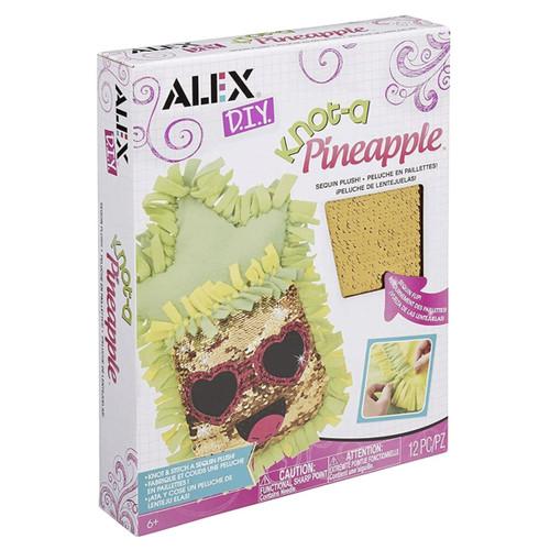 Alex DIY Knot-a Pineapple Sequin Plush 13pc Set