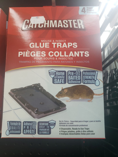 Catchmaster Mouse Trays 4pk