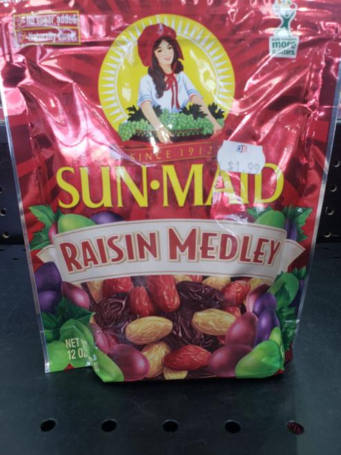 Sunmaid Raisin Medley 12oz