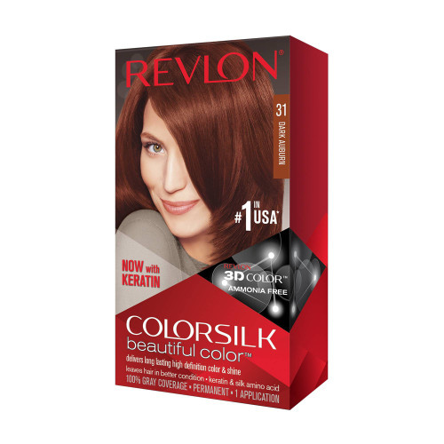 Hair Color- Colorsilk Dark Auburn #31