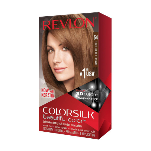 Hair Color- Colorsilk Light Golden Brown #54