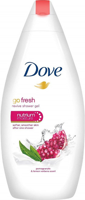Body Wash- Dove Go Fresh Revive Pom/Lemon 500ml