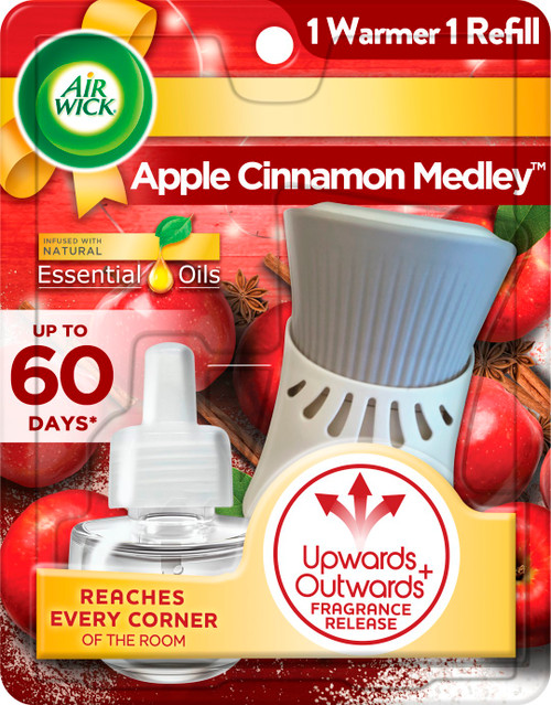 Air Wick Warmer & Oil- Apple Cinnamon
