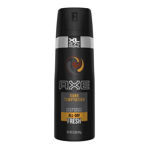 Body Spray- Axe Dark Temptation Bonus Size 5.1oz