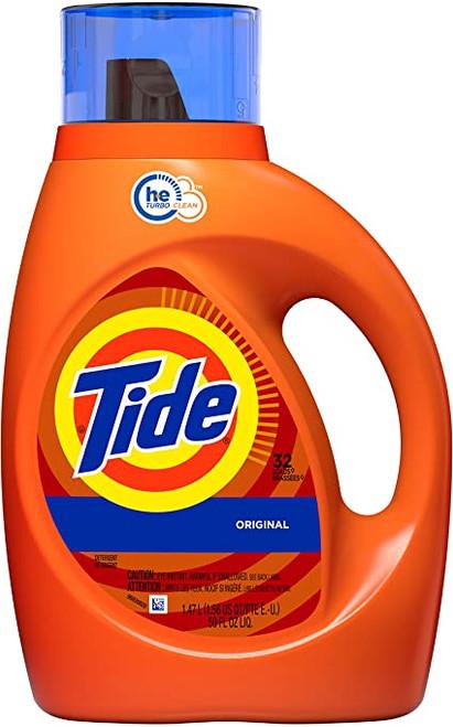 Tide Liquid Detergent 50oz