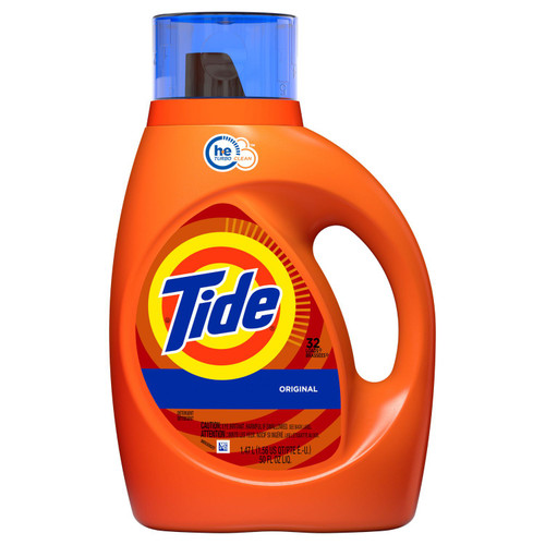 Tide Laundry Detergent Original HE 50oz