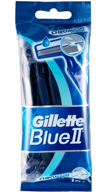 Razors- Gillette Blue 2 Chromium 10ct