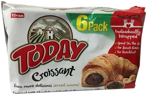 Today Croissant Chocolate 6pk