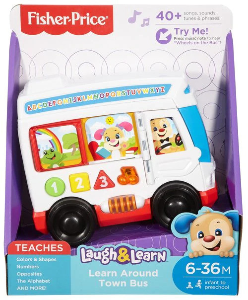 FP Laugh & Learn Learn Around Town Bus