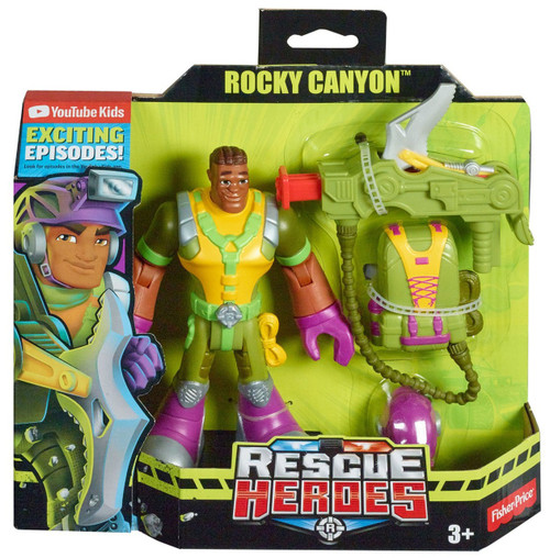 Rescue Heroes Rocky Canyon Figure w Accessories